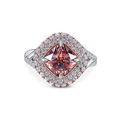 Zircon Diamond Ring by Simone and Son