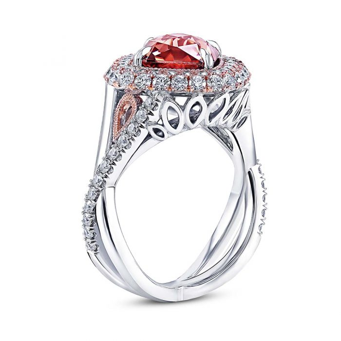 Zircon Diamond Ring by Simone and Son
