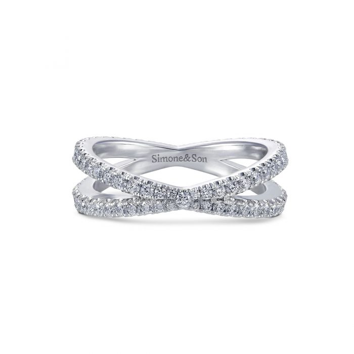 Diamond Cross Over band by Simone and Son