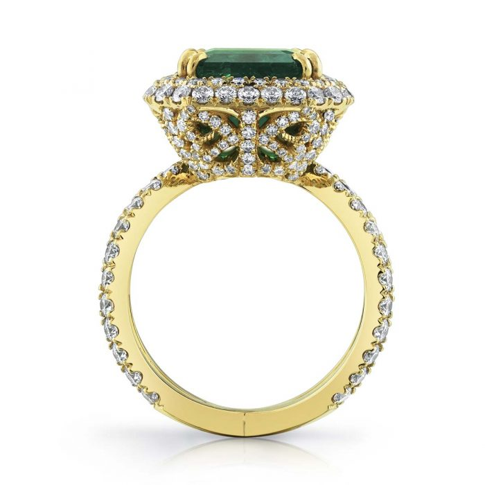 Emerald Ring By Simone and Son
