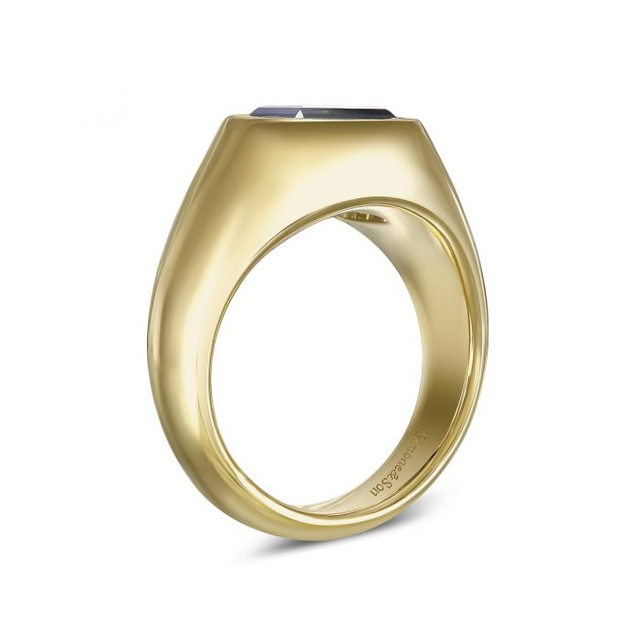 Mens Signet Ring By Simone and Son